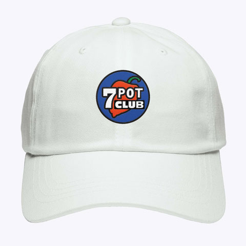 Dad Cap 7 Pot Club Logo