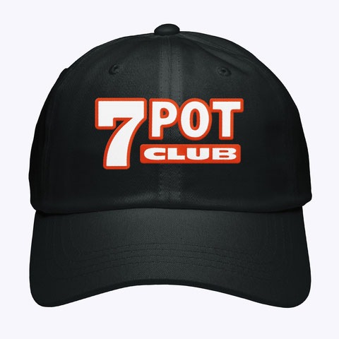 Dad Cap 7 Pot Club Name Only