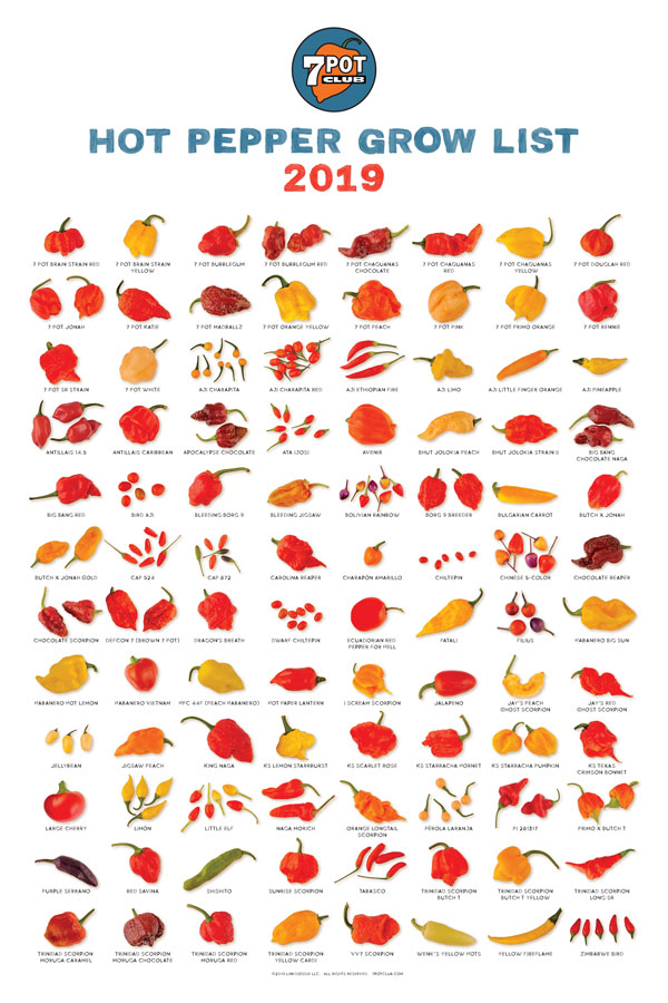 image of hot pepper poster